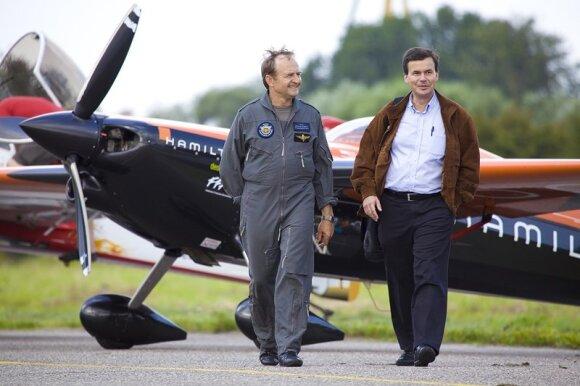 Jurgis Kairys su Jeanu-Marcu Badanu