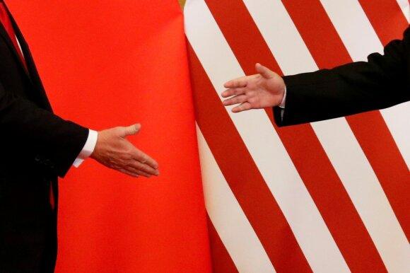 Donaldo Trumpo ir Xi Jinpingo susitarimas