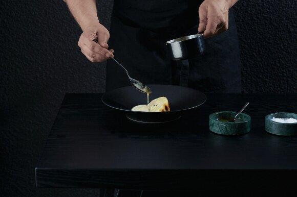 Geriausio šalies restorano šefas M. Praškevičius draugų vakarienei siūlo keturis lengvus receptus