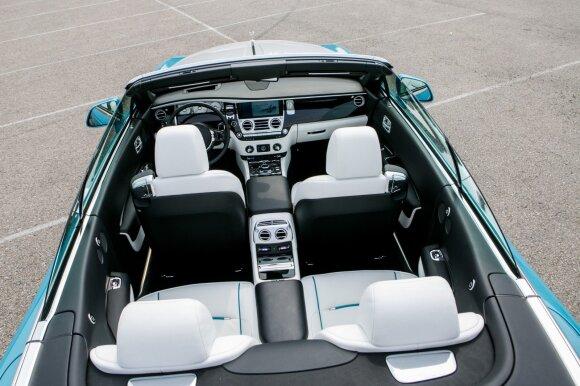 """""""Rolls-Royce Dawn"""" – itin individualus"""