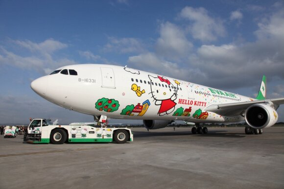 """EVA Air Hello Kitty"""