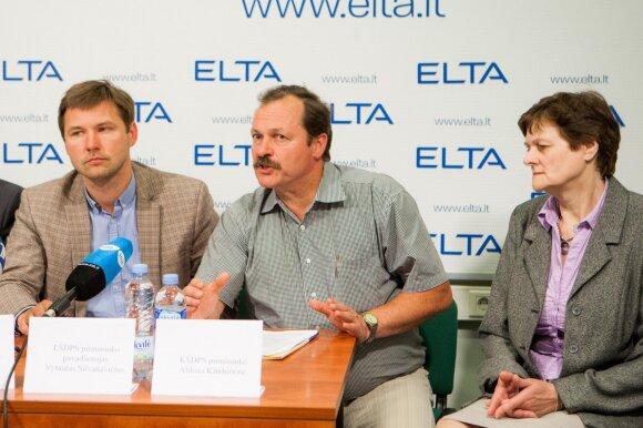 Andrius Navickas, Vytautas Silvanavičius ir Aldona Kindurienė