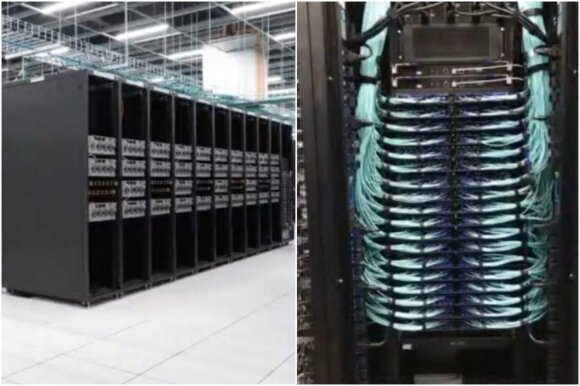 Tesla superkompiuteris / Tesla nuotr.