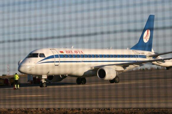 Kaip Lukašenka įsakė apsukti keleivinį lėktuvą ir nutupdyti Gardine