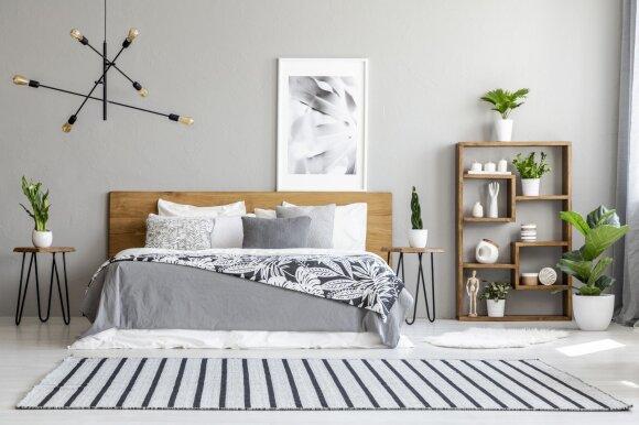 Skandinaviškas miegamasis