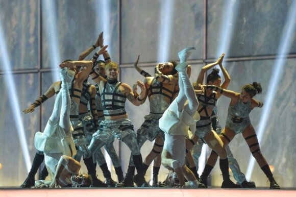 Antrasis Eurovizijos pusfinalis
