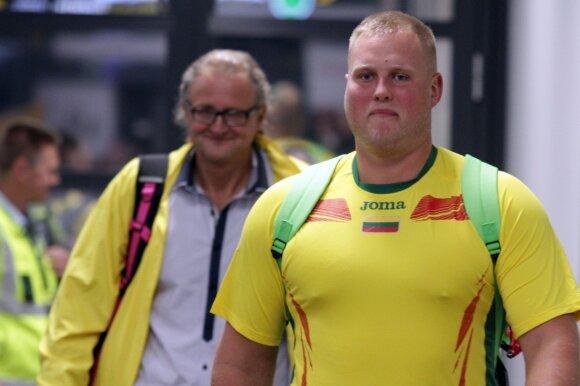 Pasaulio čempionas Andrius Gudžius grįžo į Kauną