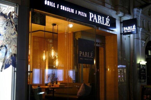 """Užkalnis apsilankė restorane """"PARLÉ"""""""