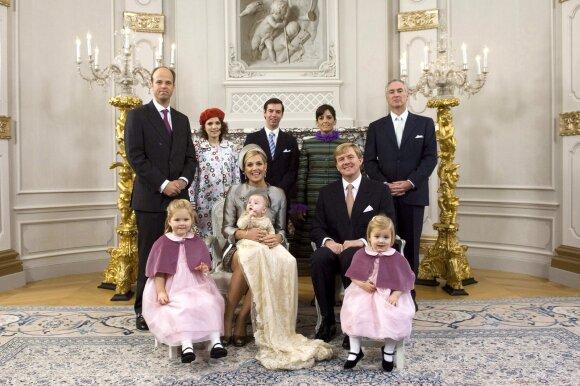 Nyderlandų karalienės sesuo rasta negyva