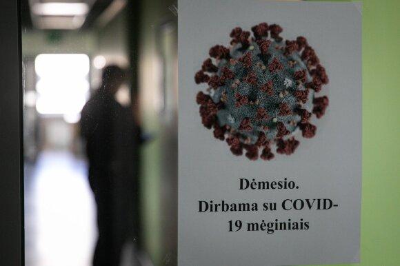 Darbas mėginius dėl COVID-19 tiriančioje laboratorijoje: per 3 paras miegojo vos 5 val.