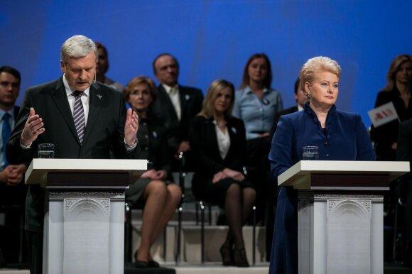 Bronis Ropė ir Dalia Grybauskaitė