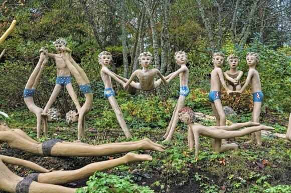 Skulptūrų parkas Parikaloje