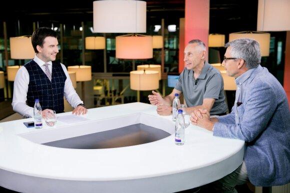 Arnas Mazėtis, Arvydas Sekmokas ir Virgilijus Poderys