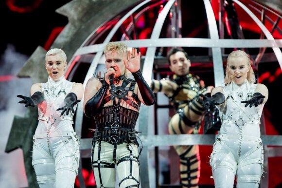 """""""Eurovizijos"""" estafetė perduota Olandijai"""
