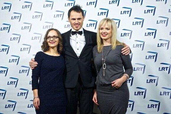 Živilė Kropaitė (dešinėje) su kolegomis