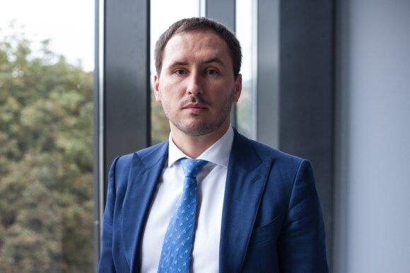 Lietuvos centrinės kredito unijos Administracijos vadovas, Valdybos pirmininkas Mindaugas Vijūnas