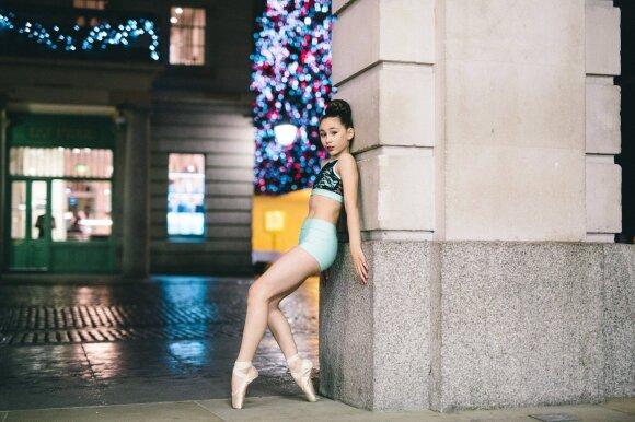 Jorelė Šimonis mėgsta modernų šokį