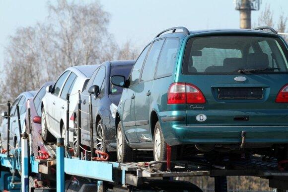 Automobilių turgus Kaune