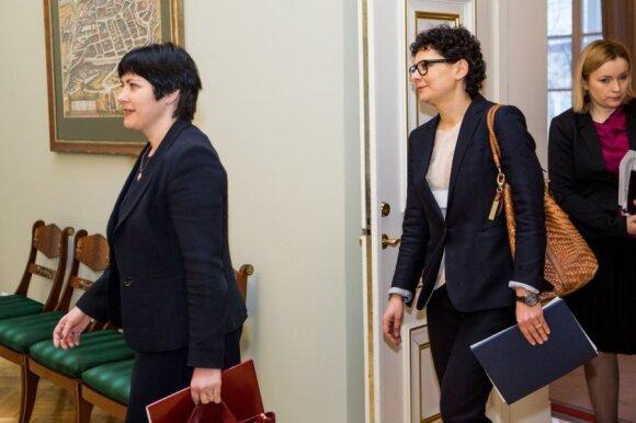 Edita Žiobienė ir Odeta Tarvydienė