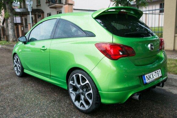 """""""Opel Corsa OPC"""" automobilis"""