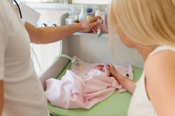 Iki ašarų jaudinanti istorija: Amelijos gimimas buvo ne toks, kokį įsivaizdavo mama