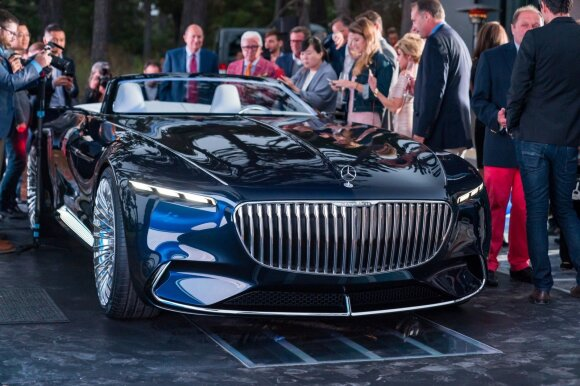 "Koncepcinis ""Mercedes-Maybach 6 Cabriolet"""