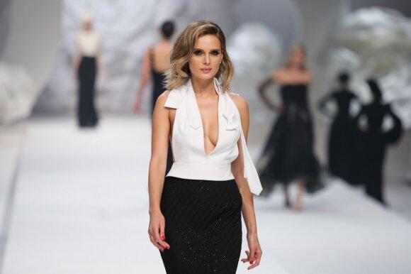 Garsių modelių išpažintys Statkevičiaus šou užkulisiuose: apie kritimą ant podiumo ir purviną suknelę