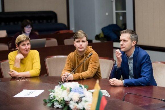 Daiva Kurcevičienė, Gintaras Petraitis, Andrius Tapinas