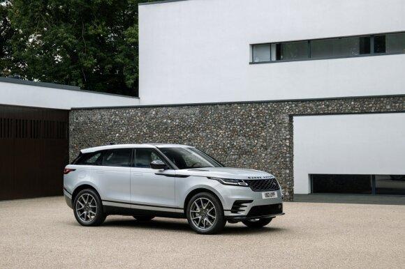 """Lietuvą pasiekė atnaujintas """"Range Rover Velar"""""""