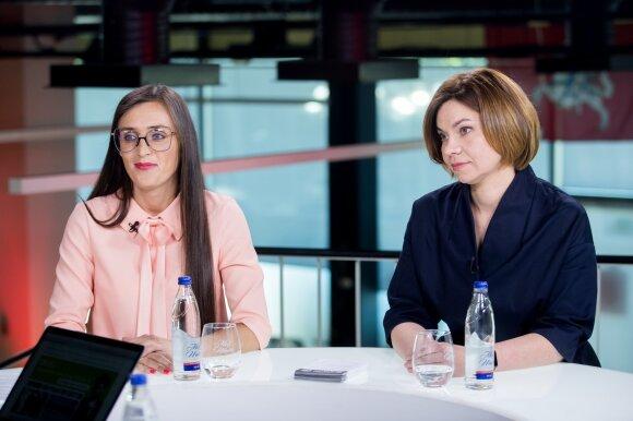 Guoda Ropaitė-Beigė, Viktorija Andrejevaitė