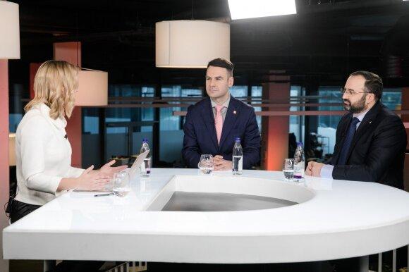 Justina Ilkevičiūtė, Saulius Jarmalis, Marius Jansonas