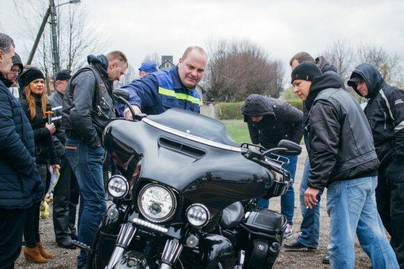 Motociklininkų renginys Klaipėdoje