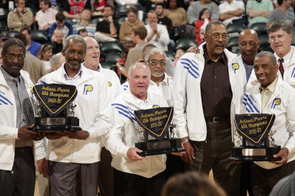 Triskart ABA čempionai Indianos Pacers