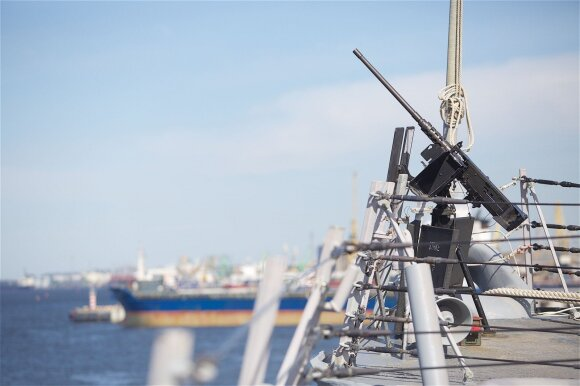 NATO laivas Lietuvoje