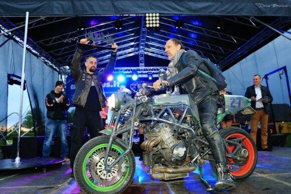 Best Crazy Bike – Savos gamybos. Autorius Maris Murnieks, Ryga
