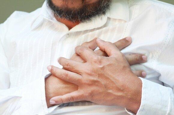 Į priėmimo skyrius plūsta pacientai: kardiologė pateikė patarimų, kurie padės išvengti susitikimo su gydytoju