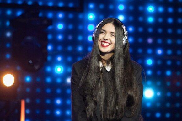 """Dėl nepadoraus gesto """"Eurovizijos"""" scenoje sukritikuota Migloko: nesiruošiu atsiprašyti, tai turėtų padaryti Giržadas"""