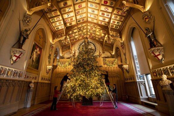 Kalėdų eglė Vindzore