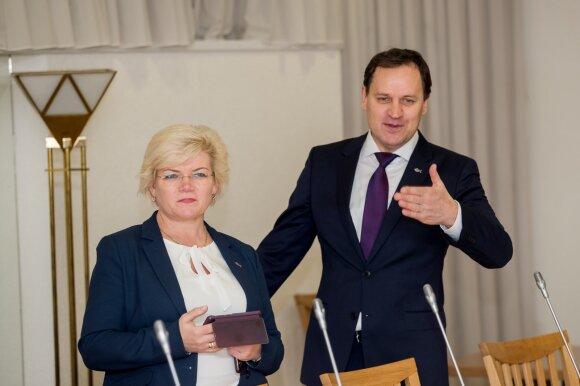 Valdančiųjų sprendimas: Narkevičius ministru lieka