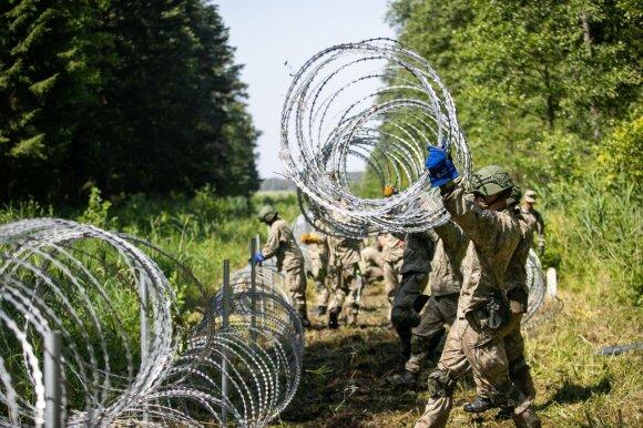 """""""The New York Times"""": Lietuvoje migrantai jaučiasi sutrikę"""