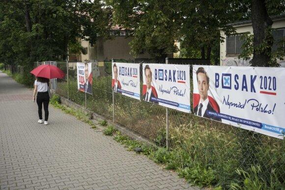 Lenkija ruošiasi prezidento rinkimams