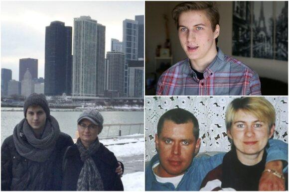 Neringa Venckienė, Karolis Venckus ir Drąsius Kedys (Stop kadras iš Chicago tribune įrašo)