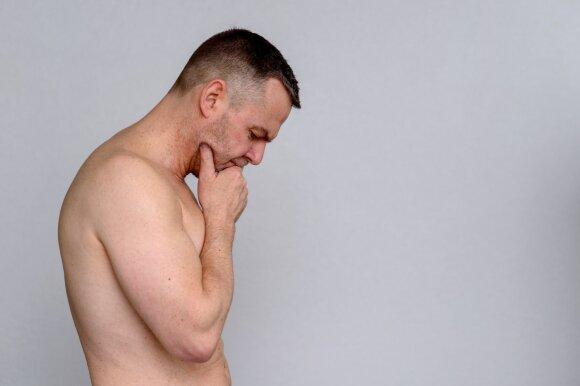 Penio susitraukimas yra toks pat dėsningas, kaip ir bet kurių kitų kūno dalių kitimas bėgant metams.