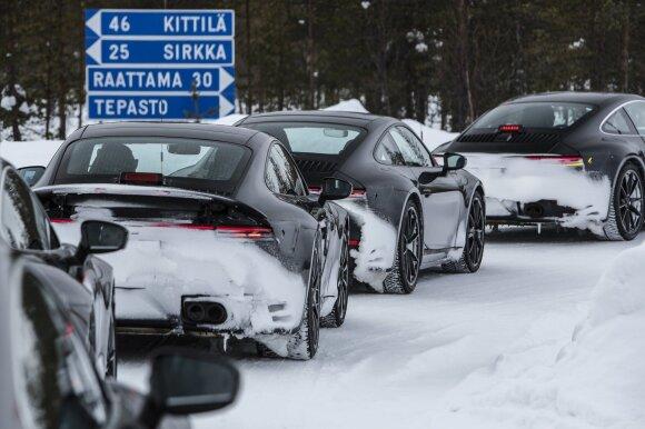 """Naujas """"Porsche 911"""" pasirodys 2019-ųjų pradžioje"""