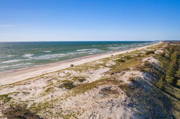 """I Smiltynės paplūdimys // """"WeLoveLithuania"""" nuotr."""