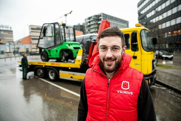 Adomas Bužinskas, Vilniaus miesto savivaldybės Administracijos direktoriaus pavaduotojas