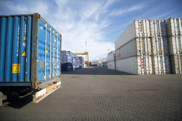 Klaipėdos konteinerių terminalas (asociatyvi nuotr.)