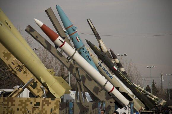 Irano balistinių raketų arsenalas