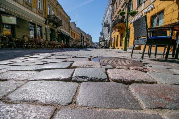 Kauno senamiestyje laukiama svarbių atradimų – gatvės remontas gali užtrukti ilgiau nei planuota