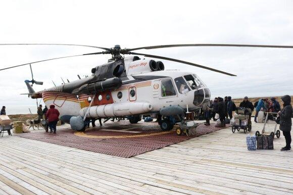 J. Morkūnas Arktyje
